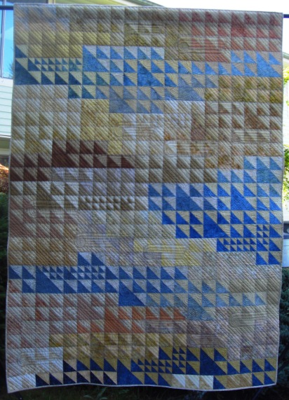 """Flight"" HST Challenge for my Quilt Guild."